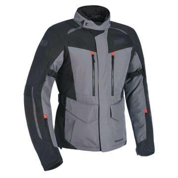 Oxford Continental Advanced Waterproof Motorcycle Motorbike Jacket Tech Grey