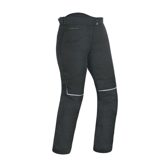 Oxford Dakota 2.0 Women's Motorcycle Motorbike Pants Regular Leg Stealth Black