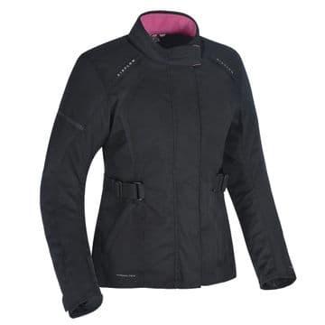 Oxford Dakota Ladies 2.0 Women's Waterproof Textile Motorcycle Jacket Tech Black