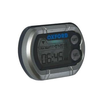 Oxford DigiClock Essential Motorcycle Motorbike Digital Clock - OX562