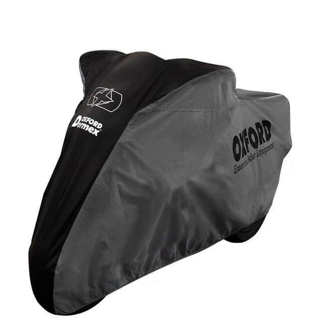 Oxford Dormex Indoor Motorcycle Bike Scooter Cover Medium Breathable Dustproof