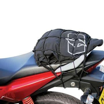 Oxford Essentials Motorcycle Motorbike Cargo Net Bungee Black - 30 x 30cm OX663