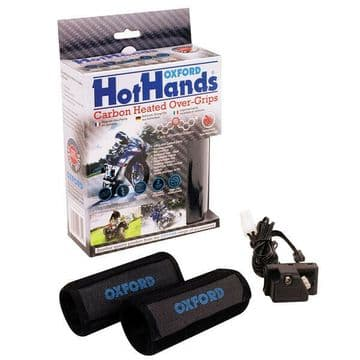 Oxford Heated Carbon Hot Hands Motorcycle Motorbike Heated Over Grips OF689