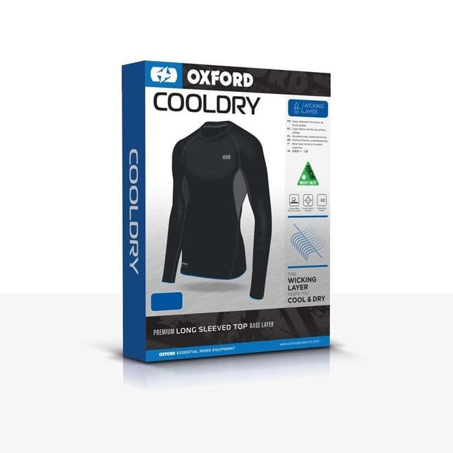 Oxford Layers Cool Dry Top Windproof Thermal Base Layers All Sizes