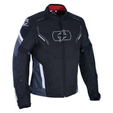 Oxford Melbourne 3.0 Waterproof Sports Motorcycle Motorbike Jacket Black & White