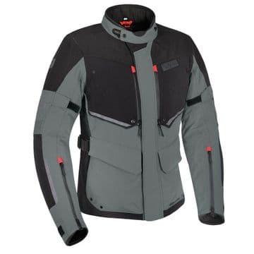 Oxford Mondial Advanced Laminate Waterproof Motorcycle Motorbike Jacket Grey