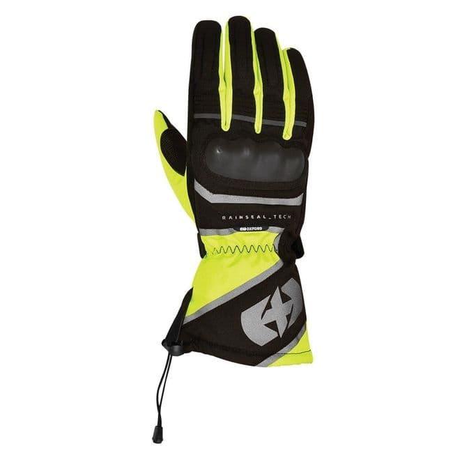 Oxford Montreal 1.0 Glove Fluo Waterproof Winter Motorcycle Gloves