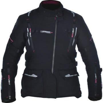 Oxford Montreal 2.0 Women's Textile Waterproof Motorcycle Touring Jacket Black