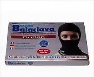 Oxford Motorcycle Balaclava - Cotton