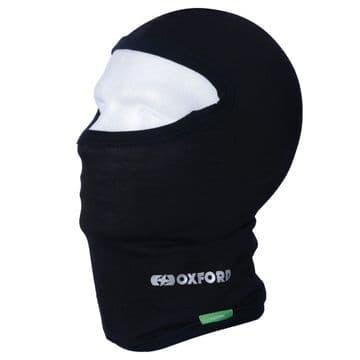 Oxford Motorcycle Winter Cotton Neck Tube Balaclava - Black