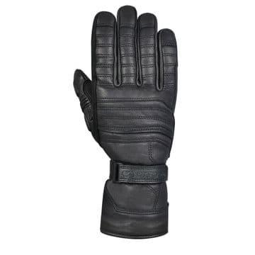Oxford Northolt Winter Motorcycle Heritage Waterproof Gloves Stealth Black
