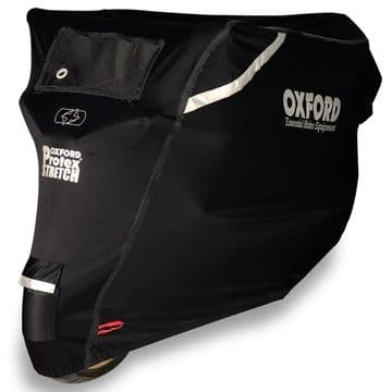 Oxford Protex Stretch Outdoor Premium Motorcycle Stretch-Fit Cover - Small CV160