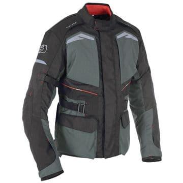 Oxford Quebec 1.0 Waterproof Adventure Motorcycle Motorbike Jacket Tech Grey