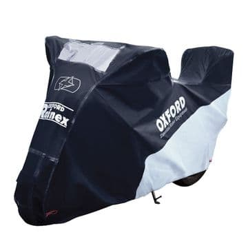 Oxford Rainex Delux Outdoor Waterproof Motorcycle Cover Topbox Small CV505