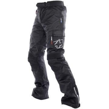 Oxford Siren Ladies Textile Waterproof Motorcycle Pants Jeans - Short Leg TW336