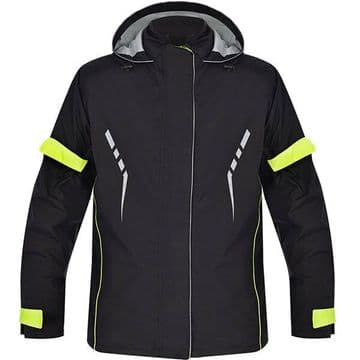Oxford Stormseal Waterproof Motorcycle Motorcycle Over Jacket Black / Fluo - 6XL