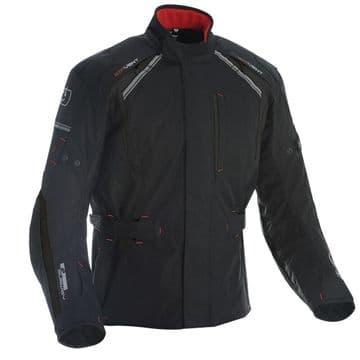 Oxford Subway 3.0 Textile Waterproof Motorcycle Motorbike CE Jacket Black