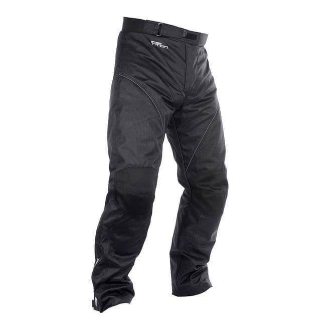 Oxford Titan 2.0 Waterproof Motorcycle Pants Trousers Black - Short Leg