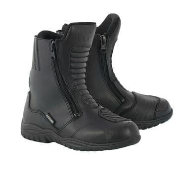 Oxford Warrior Waterproof Motorcycle Motorbike Touring Short Boots UK4 EU37