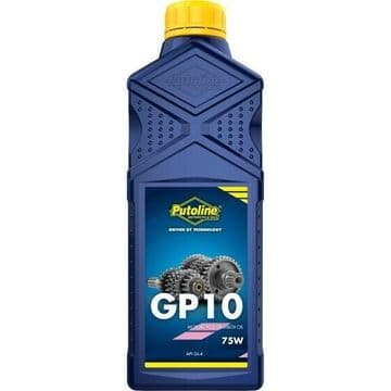 Putoline GP10 Gear Oil SAE 75W Motorcycle Motorbike MX Gearbox Oil - 1L