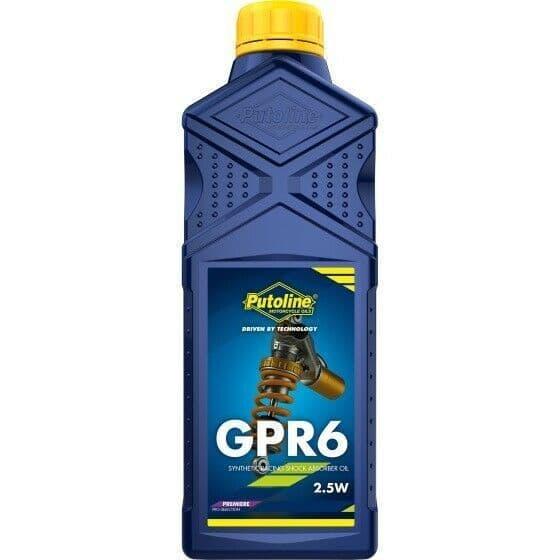 Putoline GPR 6 2.5W Premium Racing Motorcycle Motorbike MX Sock Oil - 1L