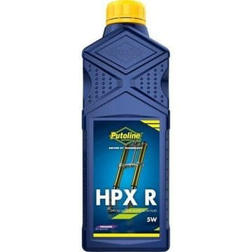 Putoline HPX R 5W Premier Synthetic Motorcycle Motorbike MX Fork Oil - 1L