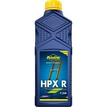 Putoline HPX R 7.5W Premier Synthetic Motorcycle Motorbike MX Fork Oil - 1L