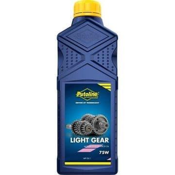 Putoline Light Gear Oil SAE 75W Motorcycle Motorbike MX Gearbox Oil - 1L