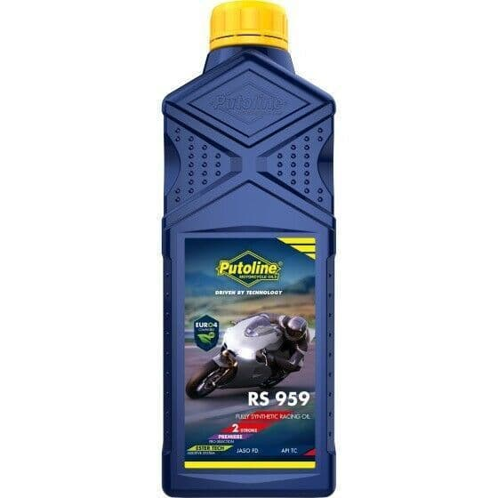Putoline RS959 TTX Ultimate Motorcycle Motorbike 100% Synthetic 2 Stroke Oil 1L