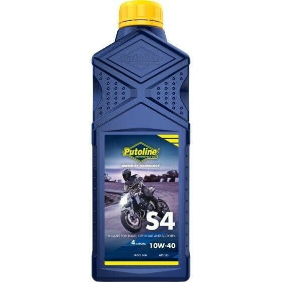 Putoline S4 10W/40 Mineral Based Motorcycle Motorbike Oil 1L