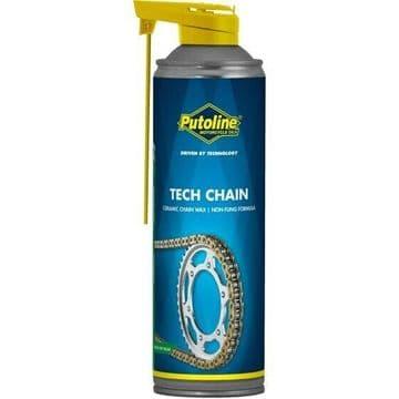 Putoline Tech Chain On Road Off Road Motocross MX Ceramic Chain Wax - 500ml