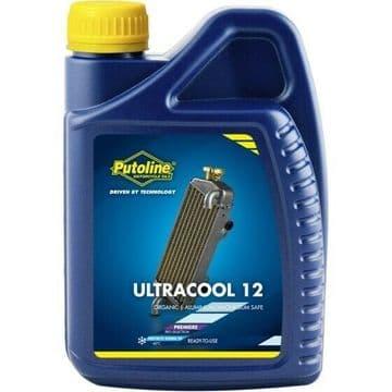 Putoline Ultracool 12 Motorcycle Motorbike Magnesium Safe Coolant Antifreeze 1L