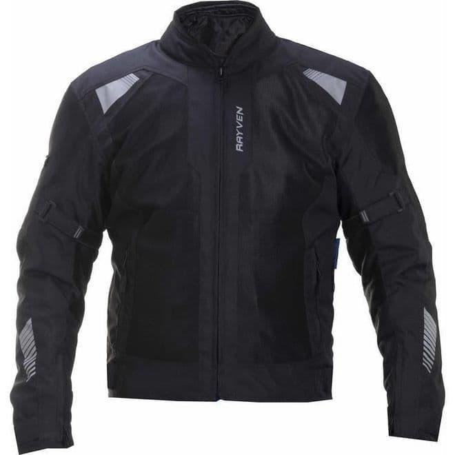Rayven Zephyr Textile Motorcycle Jacket Medium