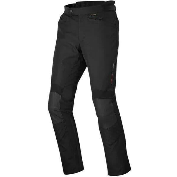 Rev'it Factor 3 Waterproof Motorcycle Motorbike Textile Pants Trousers - Black