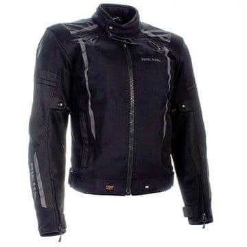 Richa Airwave Waterproof Breathable Motorcycle Motorbike D3O Jacket - Black