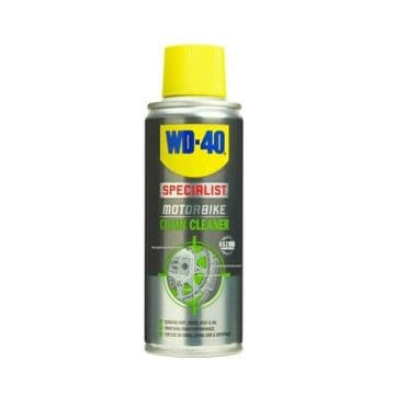 WD-40 Specialist Motorcycle Motorbike Universal O, X & Z Chain Cleaner - 100ml