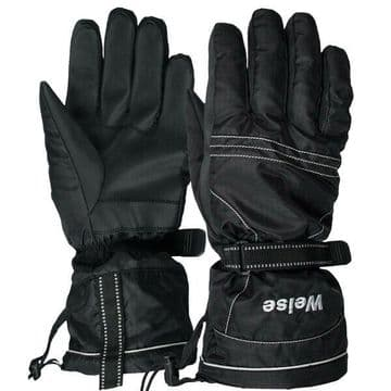 Weise City Waterproof Motorcycle Motorbike Scooter Gloves - Small