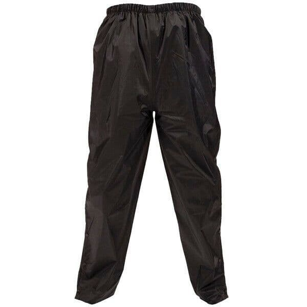 Weise Stratus Touring Lightweight Waterproof Motorcycle Over Trousers - Black