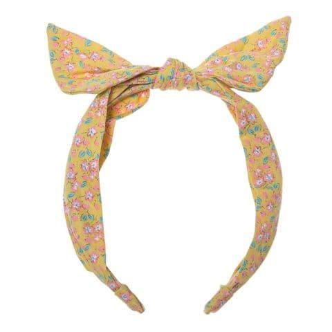 Blossom Tie Headband