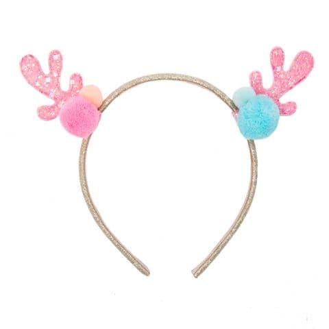 Candy Sprinkles Reindeer Headband