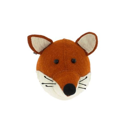Fox wall-mounted head