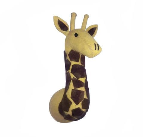 Giraffe wall-mounted head mini size