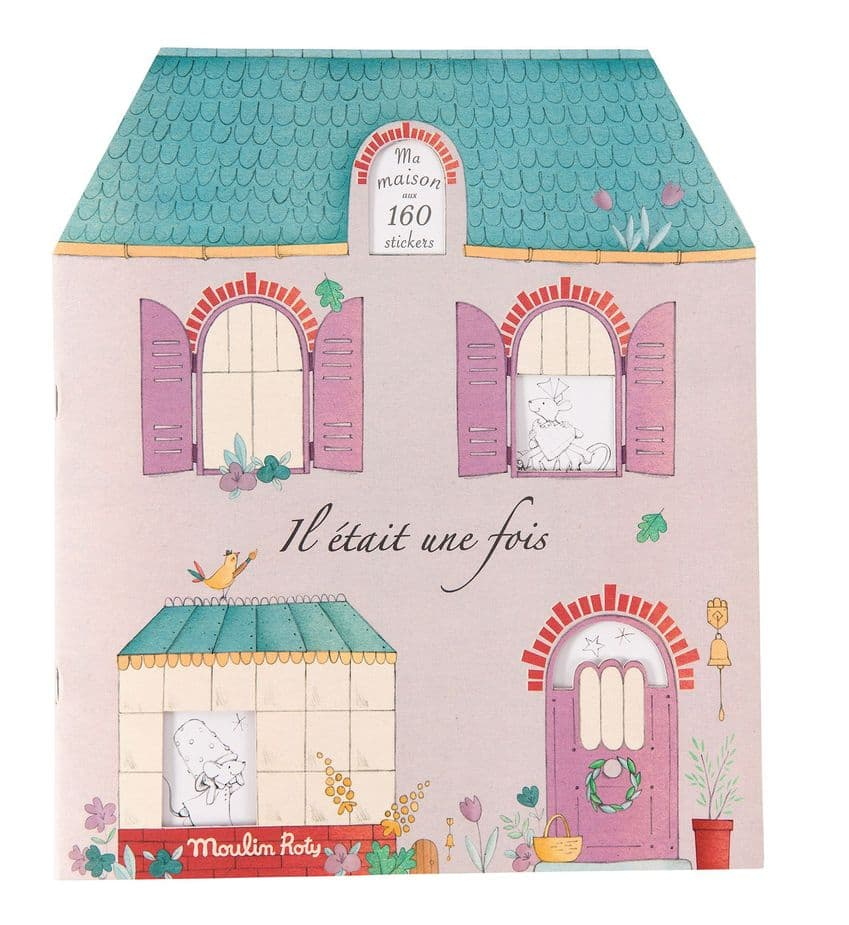 Moulin Roty Il Etait Une Fois colouring book and stickers