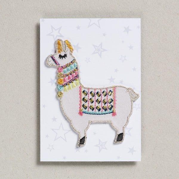 Petra Boase Iron-on patch - llama