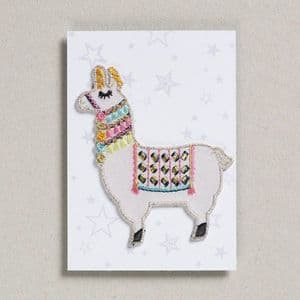 Iron on patch - llama