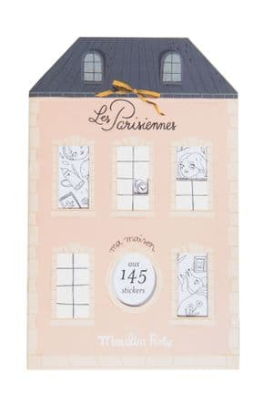 Les Parisiennes colouring book and stickers