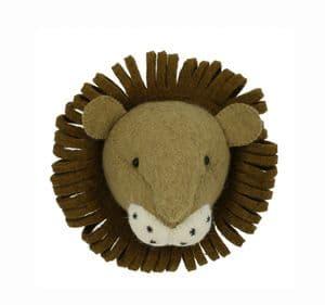 Lion wall-mounted head