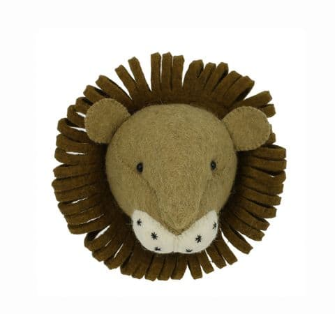 Lion wall-mounted head