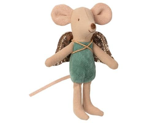 Maileg Fairy mouse green