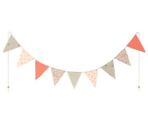 Maileg garland - pastel tones